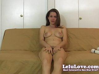 Lelu Love-Naked Vibrator Masturbation Instruction