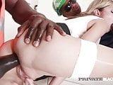Private Black - Ebony Addict Gina Gerson Does 4 Black Cocks!
