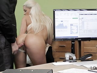 Vip4K Busty Blonde Blanche Gives Herself To Loan