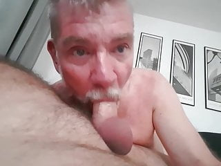 Sucking of big Beardick