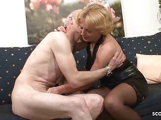 grandma and grandpa at porn casting because need cash germanPorn Videos