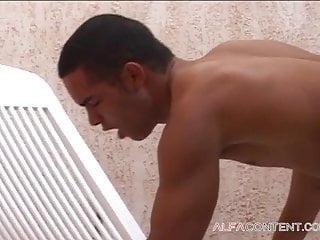 Gay action sauna...