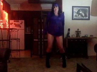 flashback fetish dancing in pantyhose