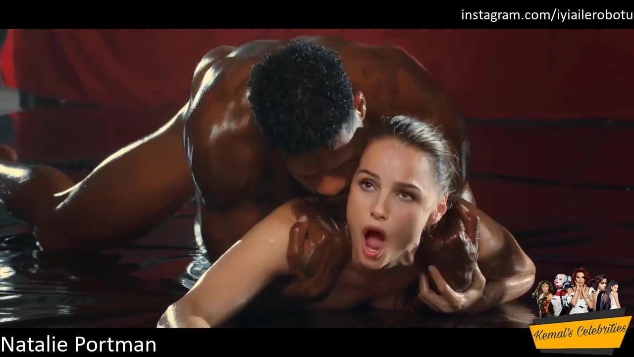 Natalie Portman's Hard Interracial Gangbang Leaked Sex Tape