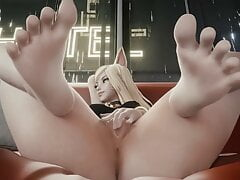 Feet, legs and heels – Rule34 compilation
