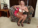 Busty April Key Using Toys on AllOver30.com
