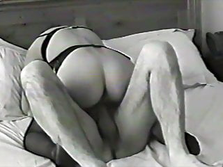Hotwife talks about other man while fucking hubby