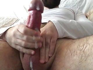 Huge big fat cock wank 13