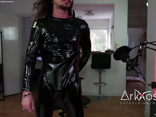 Leather compiliation camshow model one...