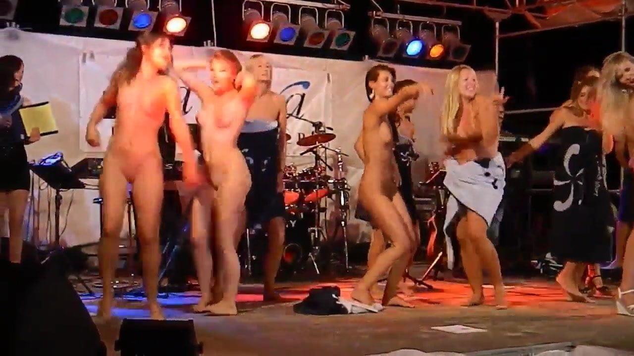 Women naked dance