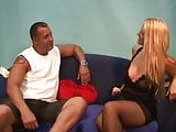 blond whore get trained by her pimp porno b
