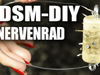 BDSM-DIY: How one can design a nerve wheel or nail wheel