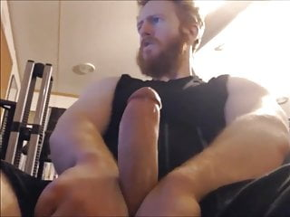 ginger stud loves showing you the cock