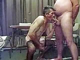 Sucking another man...