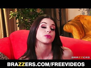 Brooklyn Chase makes an audtition tape to be a pornstar