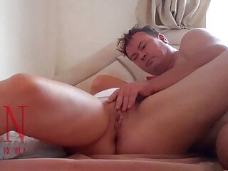 Flip my slit on together with your hands! Fingering my hole Phase 1
