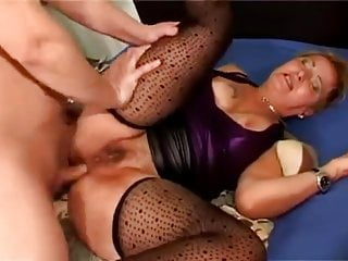 Anal granny gets torn up...