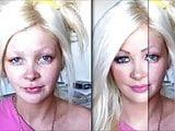 pornstars before-and-after makeup