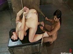 Lesbian BDSM - Mistress Isis Love Tortures Dana Vixen