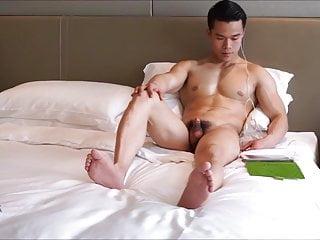Jock gets naked...