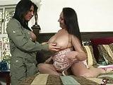 Kendra Secrets & Sonya Sage tongued each other!