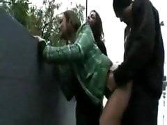 emo teens fucking guy in public