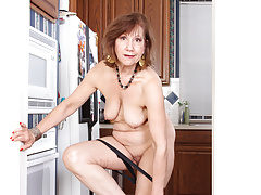 american gilf penny gets busy in the kitchenfree full porn