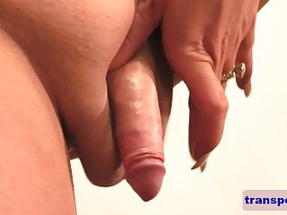 gal dick Horny ts shows her off