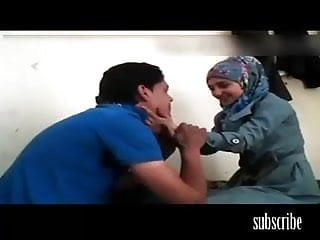 Hot hijab sex between two arabs homemade naked...
