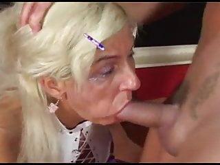 bitch hungarian Super granny fuck Aniko -
