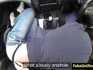 United kingdom beginner ass fucked via uniformed cop point of view
