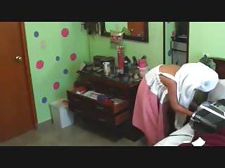 Latina Naked In Her Room Hidden Cam Clip