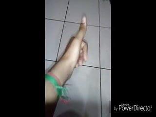 Tamil slut fingering and handjob training