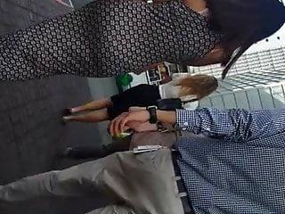WALKING SEXY DREES ASS