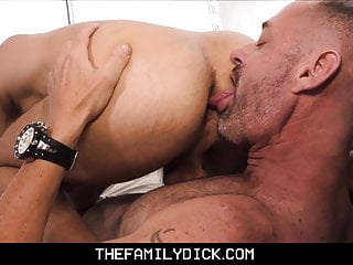 Stepdad family sex with emo stepson date...