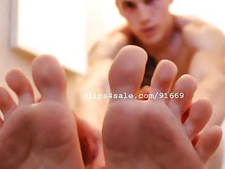 Foot Fetish - Aaron Feet Part10 Video2