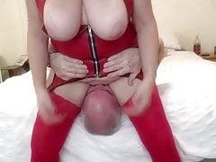 LINDA in RED LATEX 2