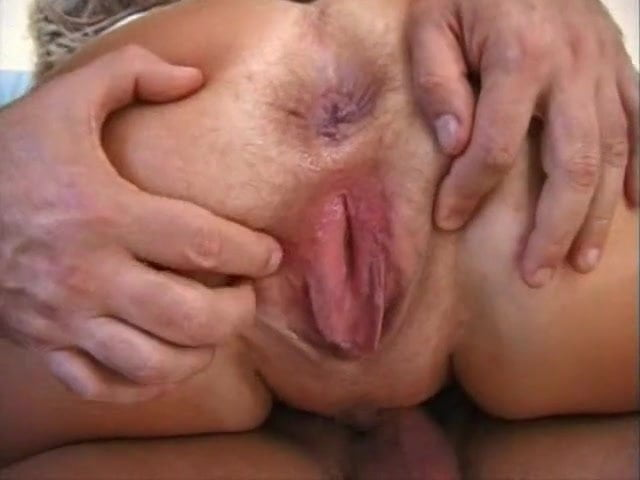 Old Granny Anal Creampie