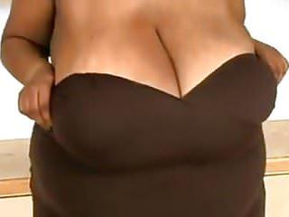 giant black boobs