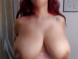 Sexy latina with juicy milky tits