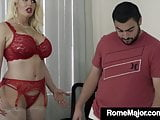 BBC Rome Major Bangs Alura Jenson As Daughter's BF Watches!
