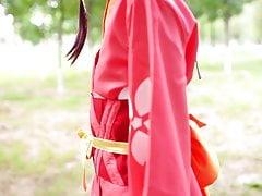 koutetsujou no kabaneri  Mumei cosplay 2