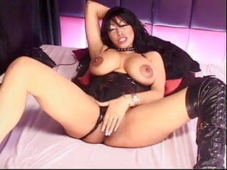 charmaine sinclair playing with tits and pussy