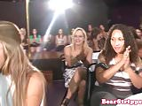 CFNM real housewife sucking cock at party
