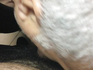 Daddy suck my cock in public wc