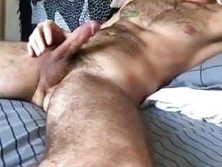Sexy dumps a load...