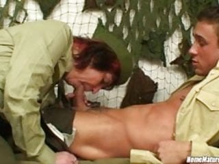 Soldier Ordered to Fuck