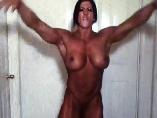 Angela butt naked muscle...