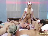 oktoberfest after party with hot nurses