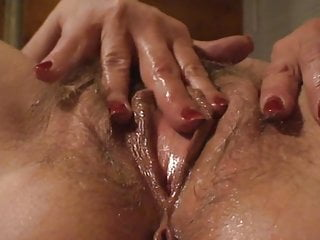 Mature Wife Playing With Pussy